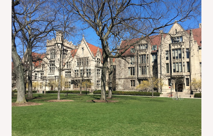 University of Chicago (9th in the world)