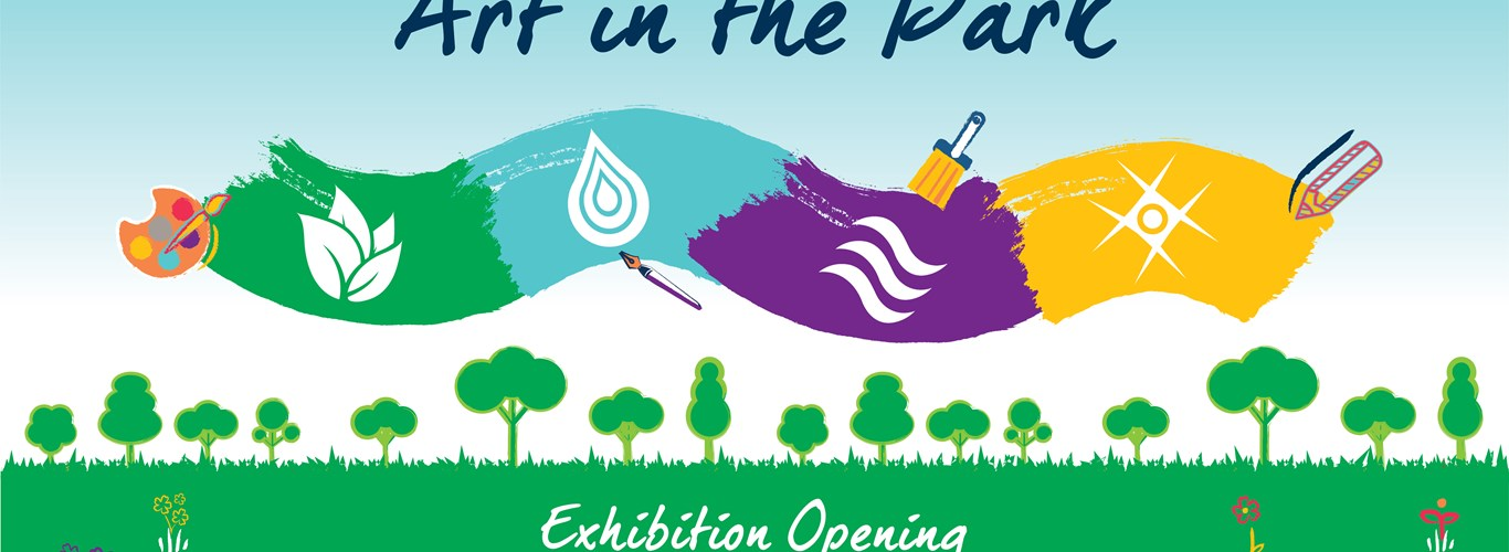 art in the park web banner