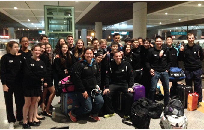 BISS Lions at the ACAMIS Swimming 2014