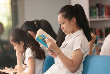 Library at British International School HCMC