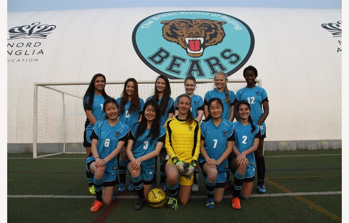 BSB Girls SOCCER  Team 1