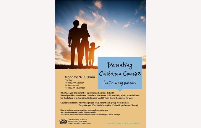 Parenting Children course 2016