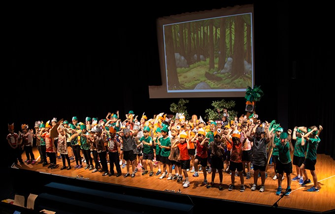 Year 1 Gruffalo Production, Image 2