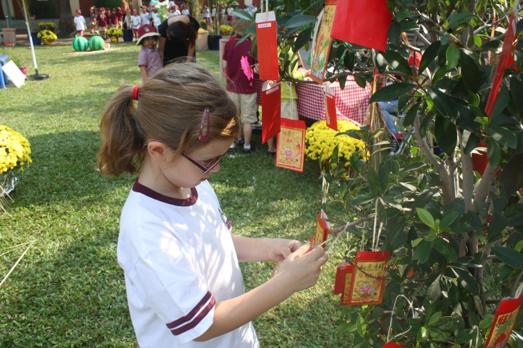 An Phu Primary Tet Fair 2015