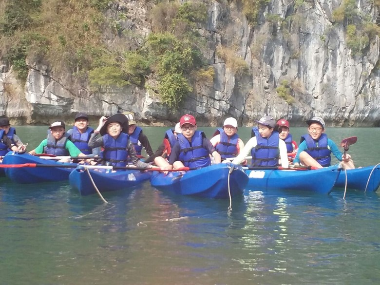British International School Hanoi Y8 Cat Ba Trip 2018 (27)