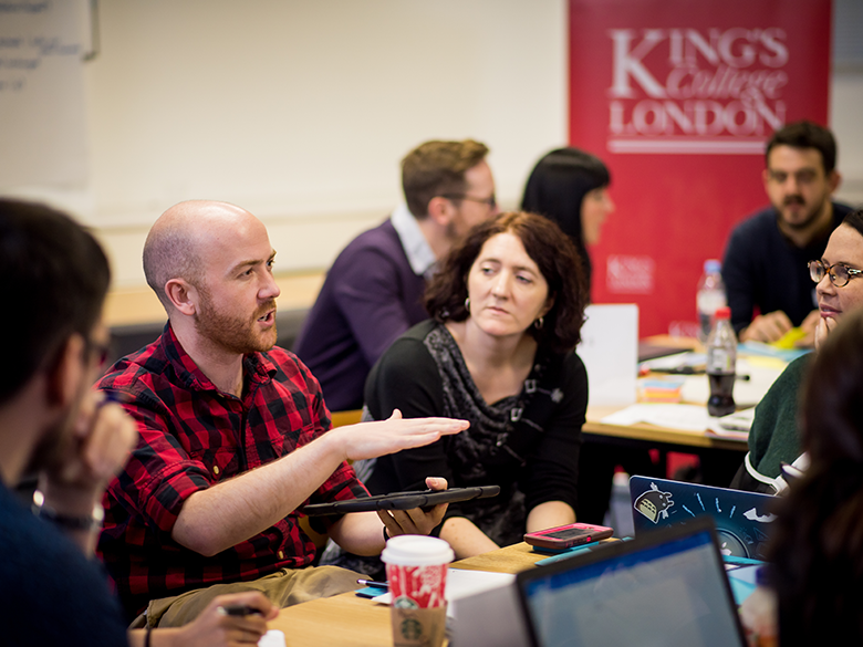 NAE Teachers enjoy Master programme at King College London