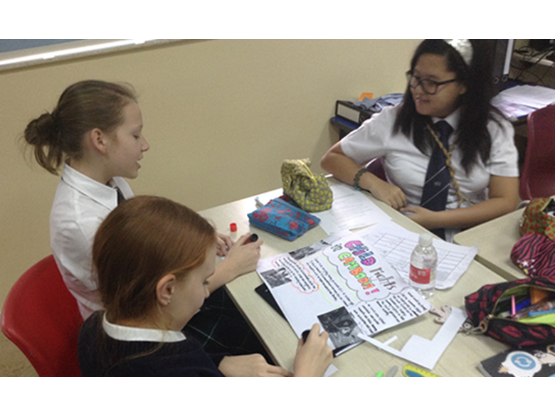 Students from across the whole of the British International School Shanghai took part in the Global Classroom Big Challenge in partnership with Oxfam