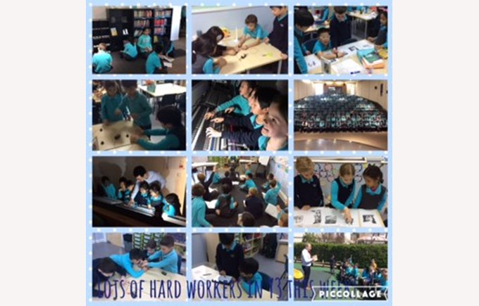 Lots of hard workers in Year 3 this week!