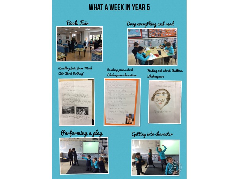 Shakespeare Week in 5A