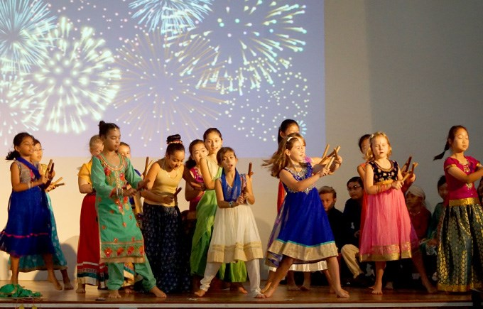 Primary School 5EC, 5LH and 5/6LJ Deepavali Assembly