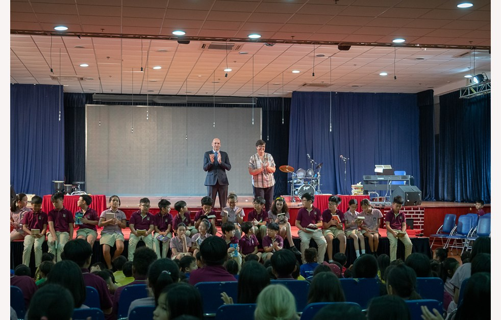 Y6 Leavers assembly 9