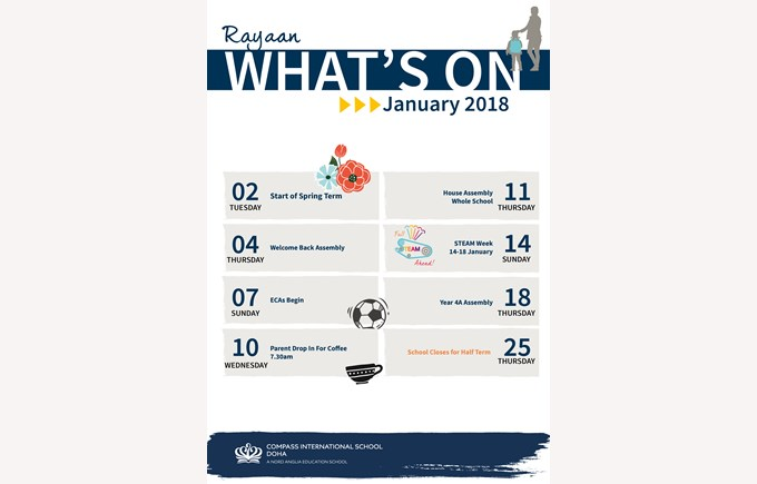 What's on Rayyan January