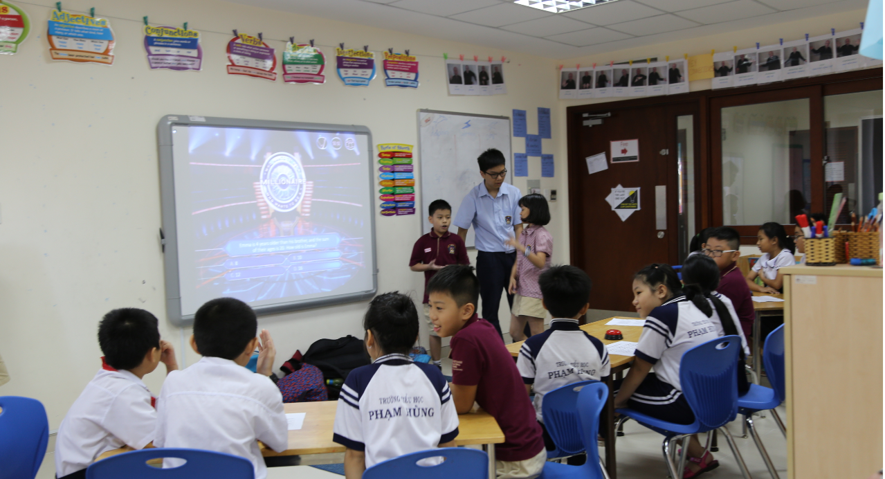 BVIS HCMC students take part in community services activities
