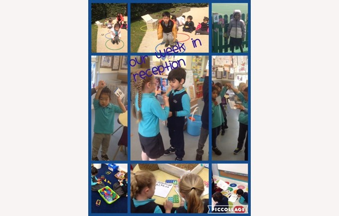 Our week in Reception