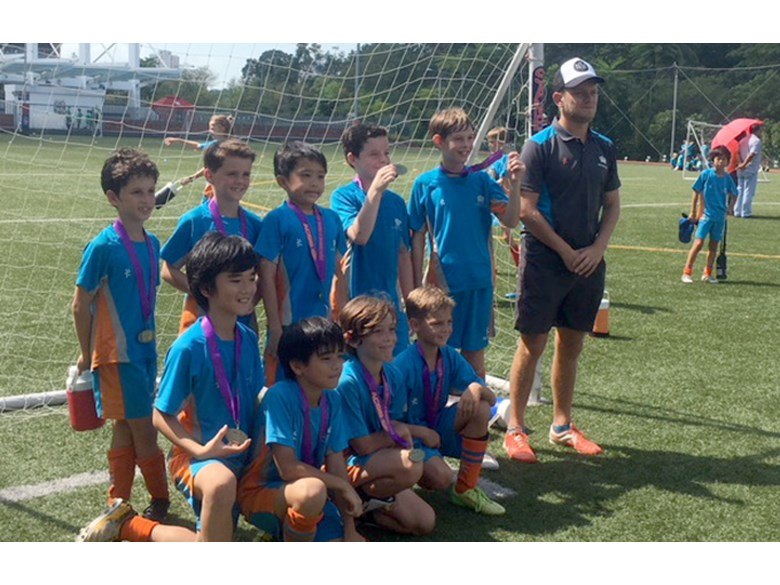U10 Boys Football Team