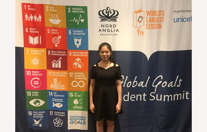 Sunny- Most Honourable Delegate Security Council Global Goals MUN
