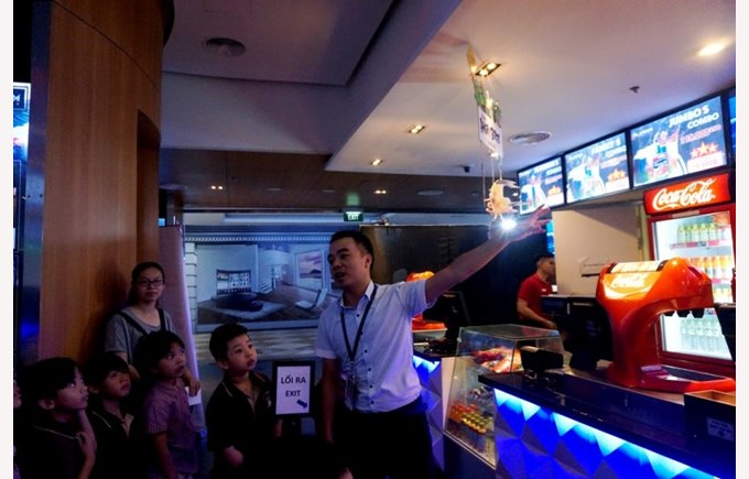 Trip to platinum cineplex  - Year 2 BVIS Hanoi (1)