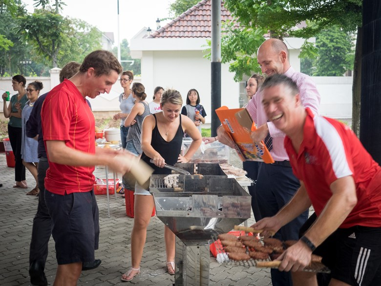 Secondary Party BBQ British International School Hanoi