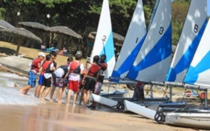 Sailing at Royal Varuna Yacht Club