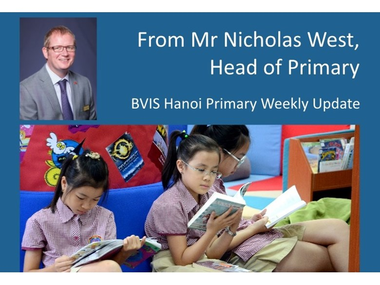 BVIS Hanoi Primary update 12 June