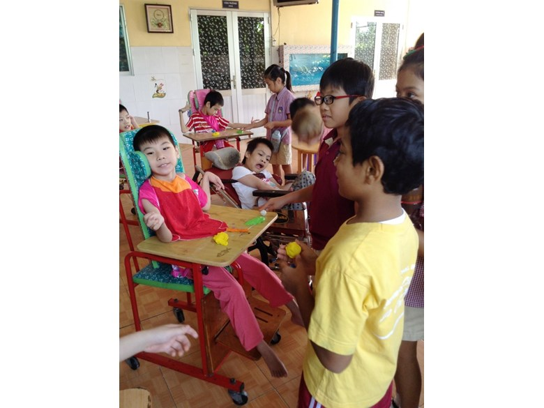Year 3 Visiting Thien Phuoc Orphanage