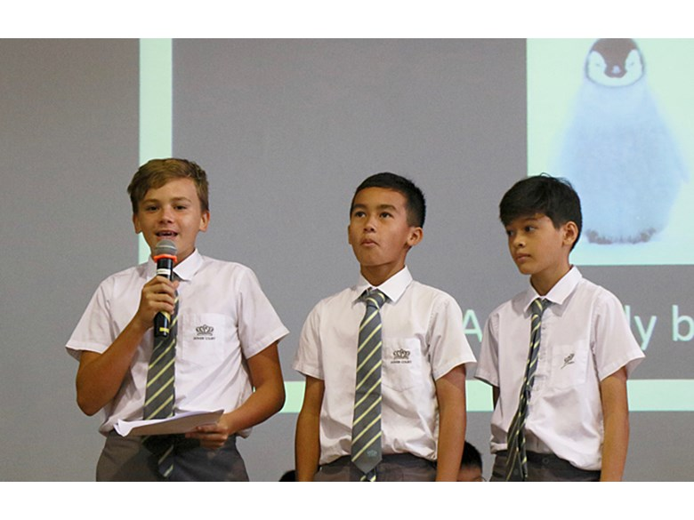 Secondary School Assembly: Be a Penguin by Year 8AH