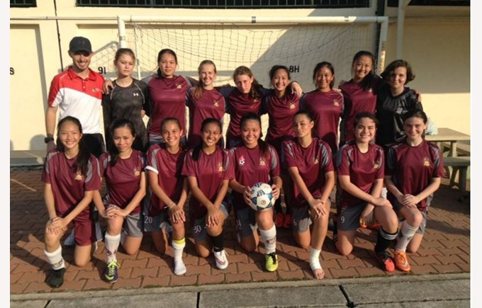 Senior Girls Football vs French International School