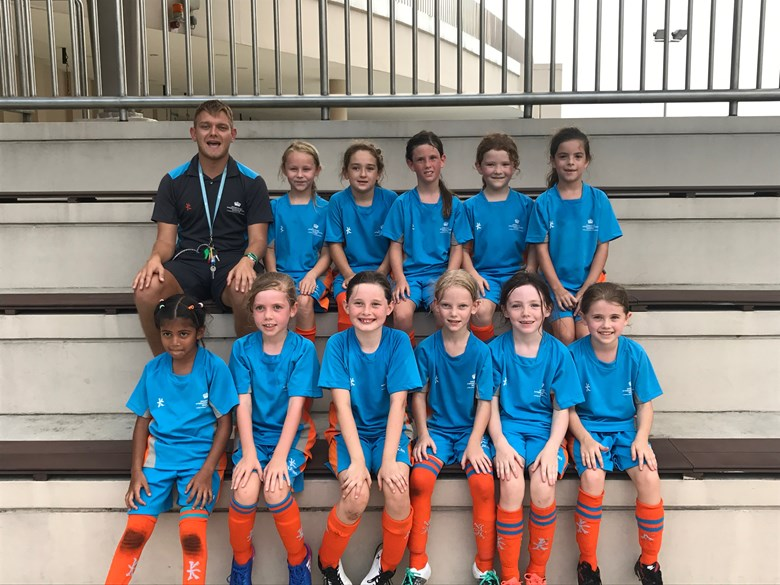 U8 Girls Football May 2017