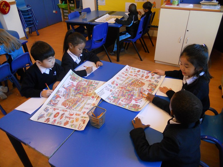 Y1 EAL Lesson