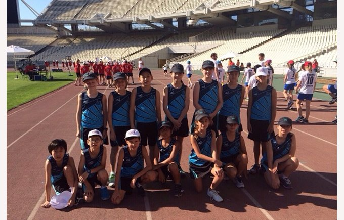 COBIS Primary Games in Athens