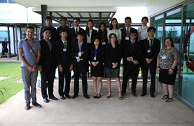 picture of MUN team