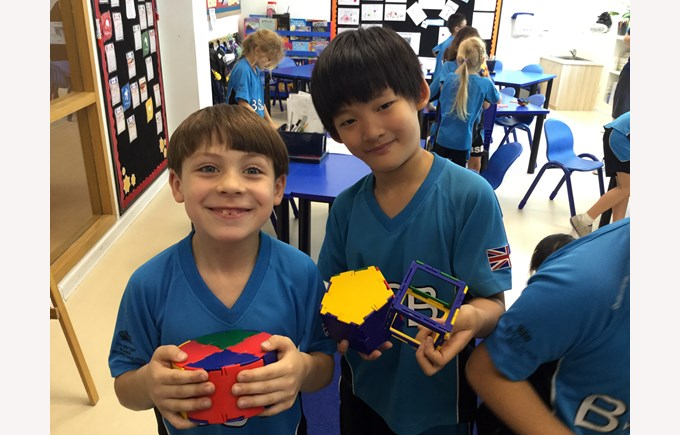 Y2 learning about shapes