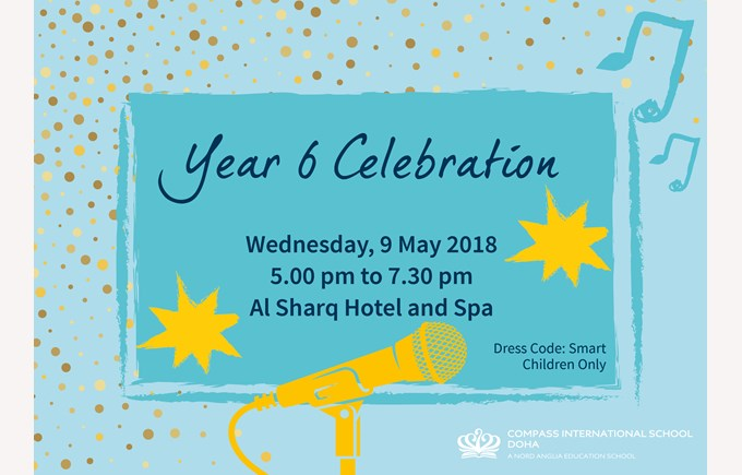 Year 6 Celebration May 2018