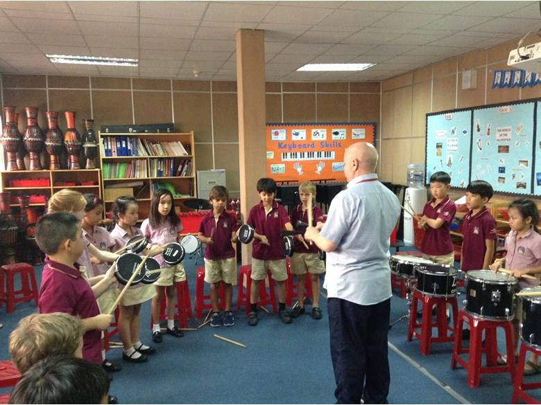 Drumming workshop with UK percussionist Andy Gleadhill 4