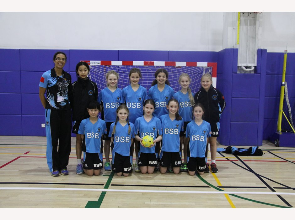 U11 Girls Handball