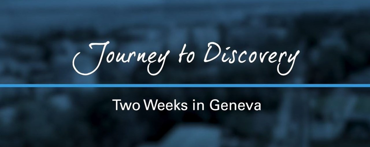 Two week journey: Geneva
