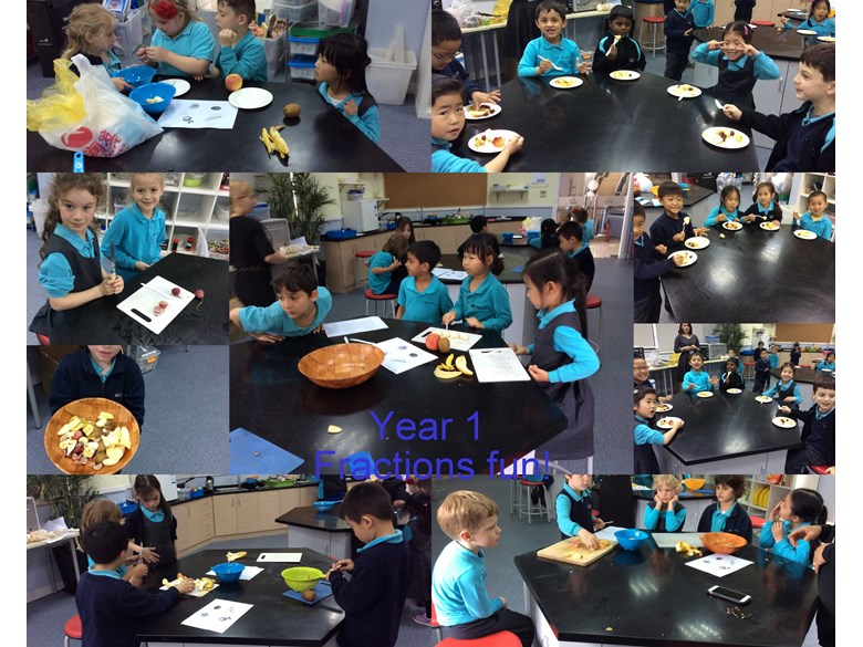 Year 1 Fraction Fun