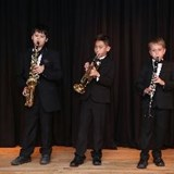 Primary students in concert