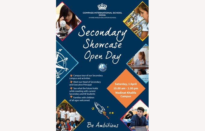 Secondary Showcase Open Day