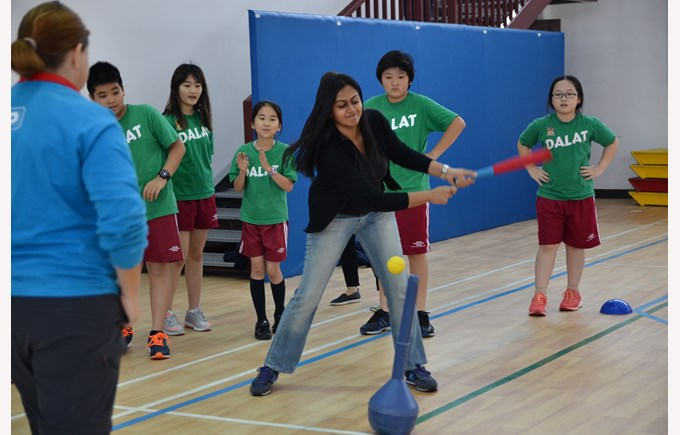 British International School Hanoi T ball competition