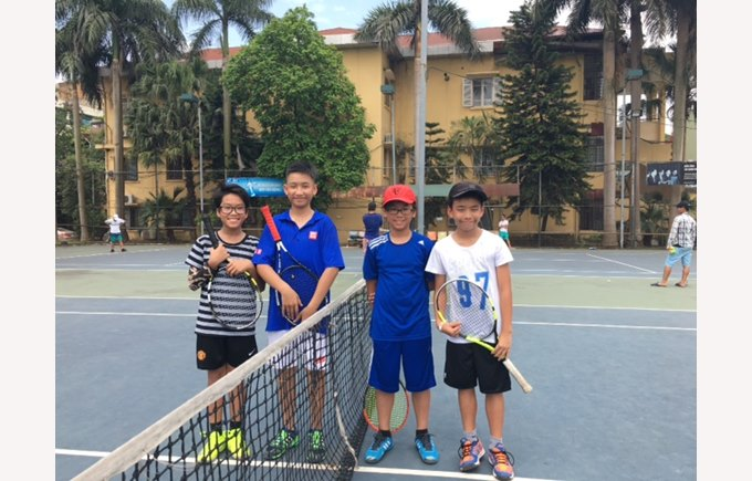 British International School Hanoi tennis championship