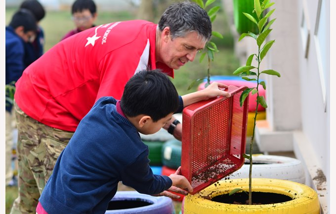 British International School Hanoi ECAs gardening