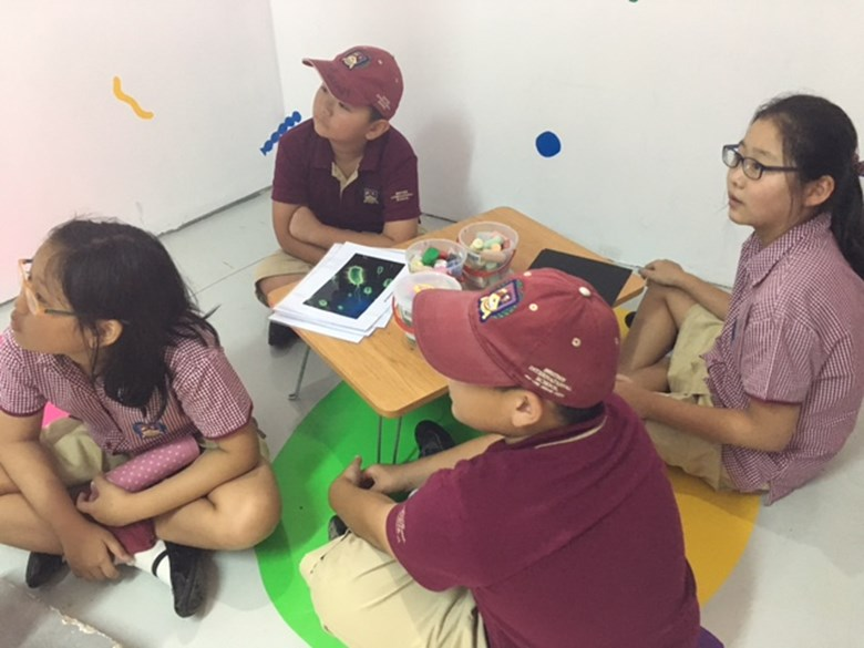 BIS Ho Chi Minh Year 5 and 6 visit a Art anf Science exhibit - 16