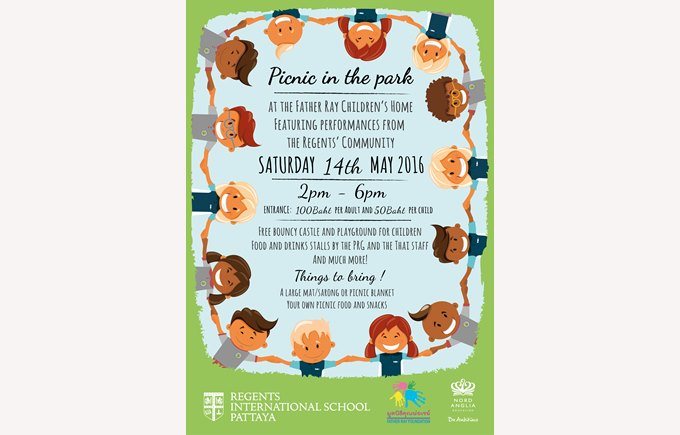 Poster - Picnic in the Park 2016
