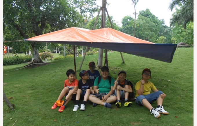 Year 6's Forest School program (6)