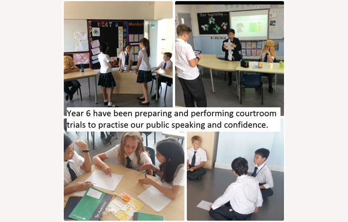 Year 6 develop their skills in public speaking