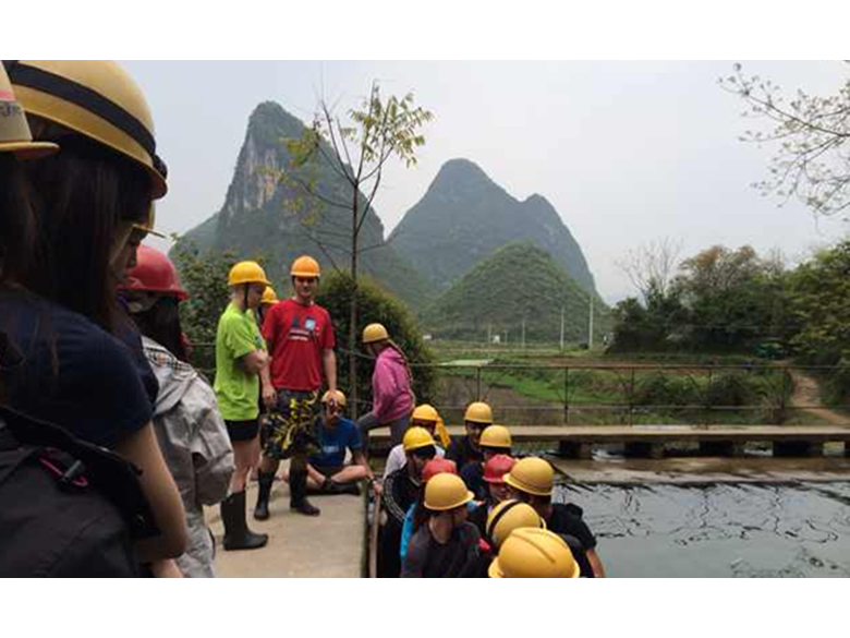 Year 12 students from BISS Puxi visit Yangshuo for a Biology, Geography and Environmental Systems and Societies trip