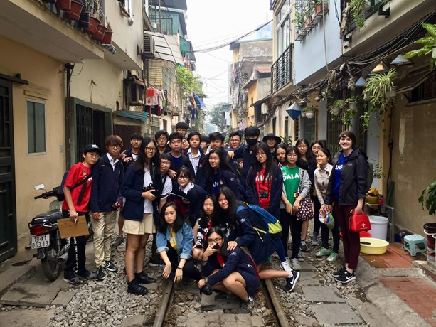 British International School Hanoi y10 Art Trip 2018