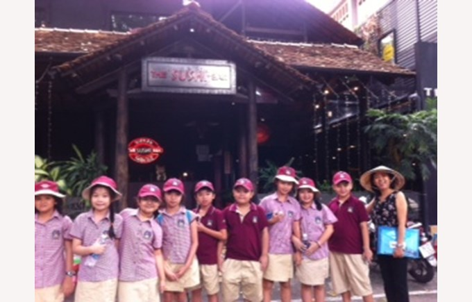 BIS Ho Chi Minh Year 4 Amazing Race Saigon - 5