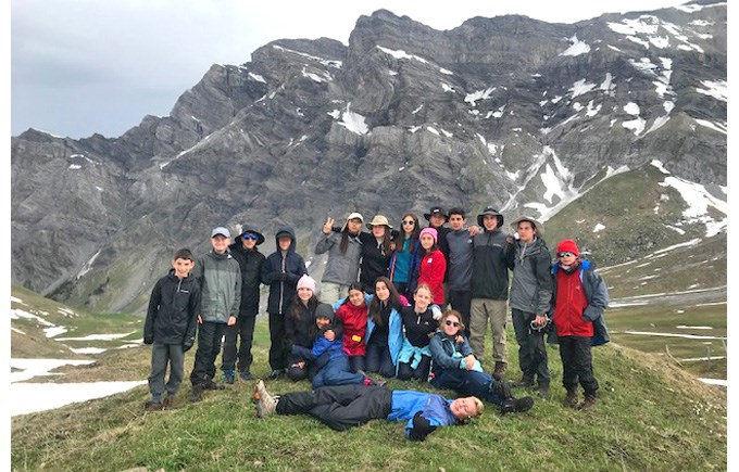 DCIS - Les Martinets, Swizerland Expedition 2019